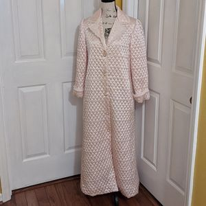 Vintage Christian Dior Quilted Robe